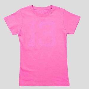 13, Pink Girl's Tee