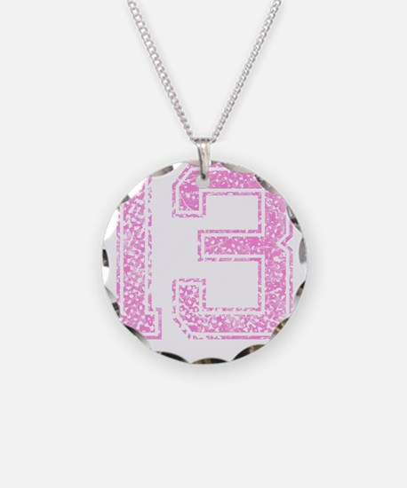 13, Pink Necklace