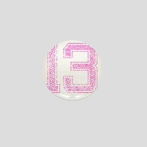 13, Pink Mini Button