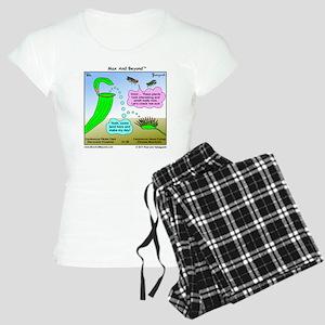 Venus Flytrap and Pitcher P Women's Light Pajamas