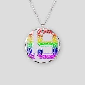 19, Gay Pride, Necklace Circle Charm