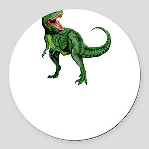 Sexual Tyrannosaurus Round Car Magnet