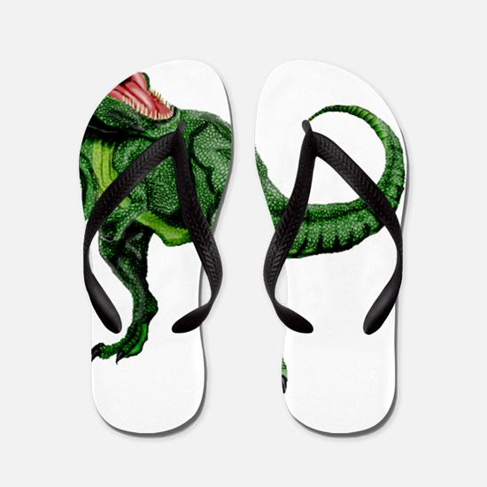 Tyrannosaurus Flip Flops