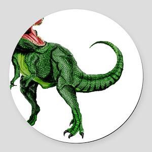 Tyrannosaurus Round Car Magnet