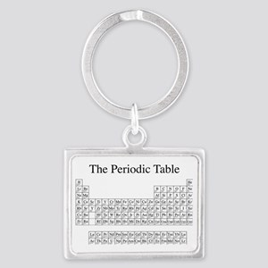 Periodic Table Landscape Keychain