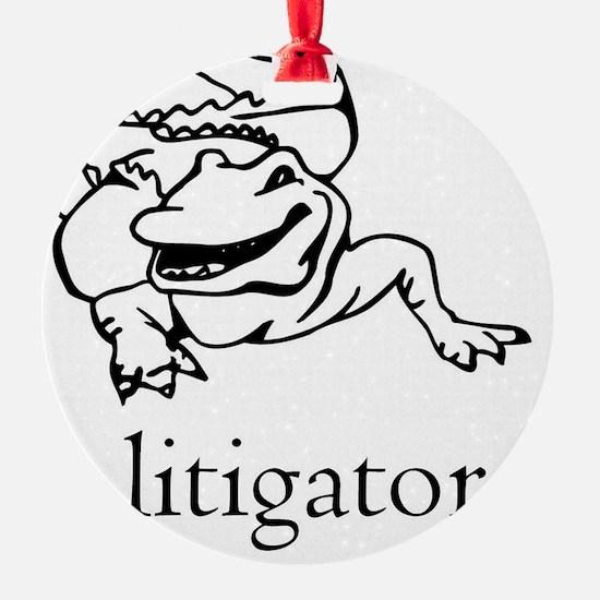 a litigator Ornament