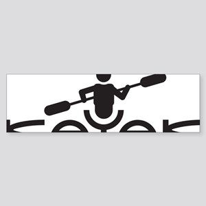 Kayak Logo Sticker (Bumper)