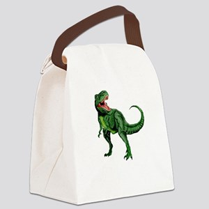 Rex Nom Nom Canvas Lunch Bag