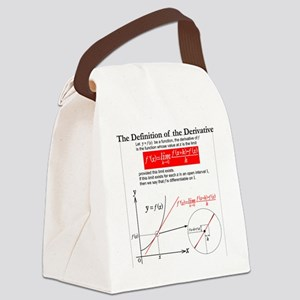 The Definition of the Derivative. Canvas Lunch Bag