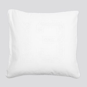13, Aged, Square Canvas Pillow