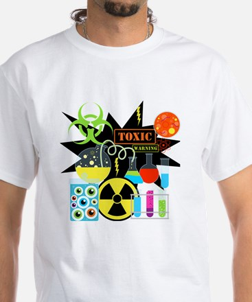 Mad Scientist White T-Shirt