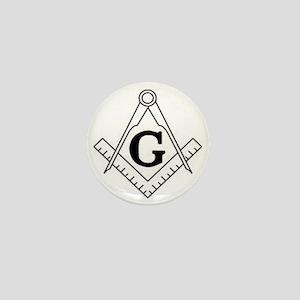 Freemason Symbol Mini Button