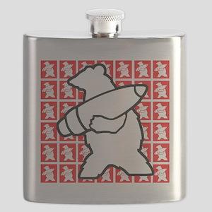 Bear Soldier Flask