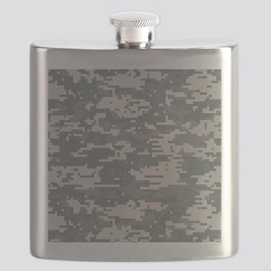 Digital Camo Flask