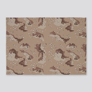Digital Camo 5'x7'Area Rug