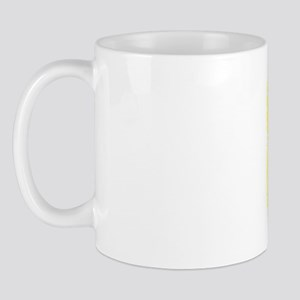 87, Yellow, Vintage Mug