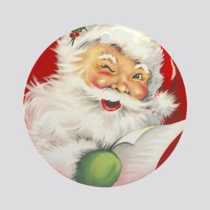 sv_napkins_825_H_F Round Ornament