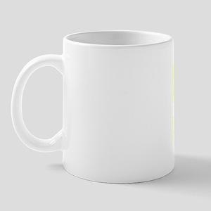 94, Yellow, Vintage Mug