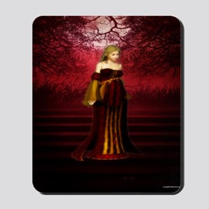 Medieval Maiden Mousepad