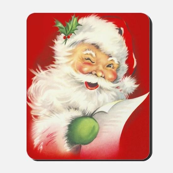 Santa Vintage Mousepad