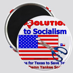 Solution to Socialism Magnet