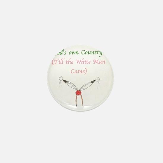 Gods Country Mini Button