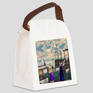 Greek Goddesses Canvas Lunch Bag