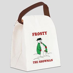 Christmas Showman Canvas Lunch Bag