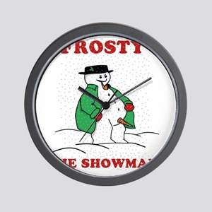 Christmas Showman Wall Clock