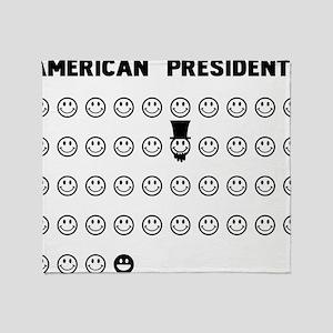 American presidents Throw Blanket