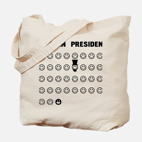 American presidents Tote Bag