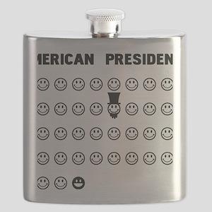 American presidents Flask