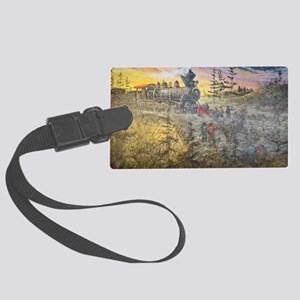 Connecting America Large Luggage Tag