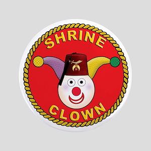 """Shrine Clown 3.5"""" Button"""