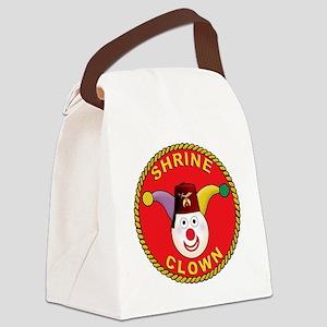 Shrine Clown Canvas Lunch Bag