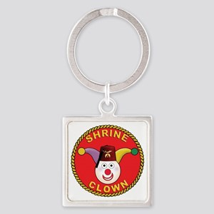 Shrine Clown Square Keychain