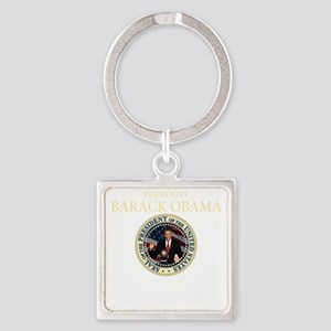Inauuguration Day(blk) Square Keychain