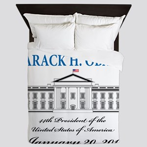 2013 inauguration day b Queen Duvet