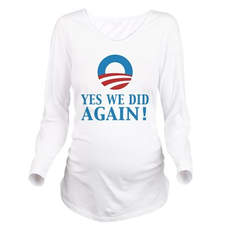 yes we did again Long Sleeve Maternity T-Shirt