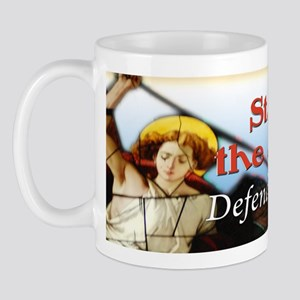 St Michael bumper sticker Mug
