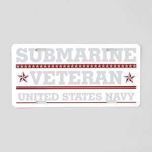 Submarine Veteran: United S Aluminum License Plate