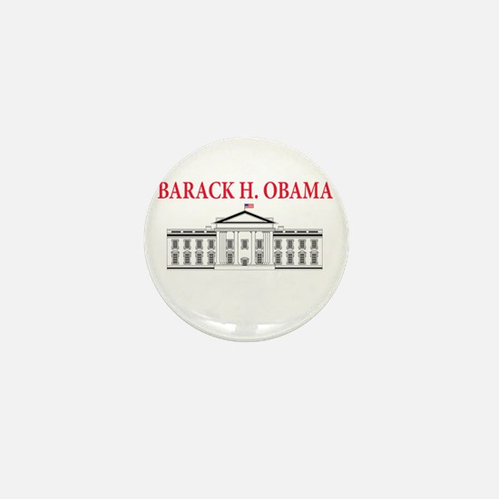 2013 inauguration day b(blk) Mini Button