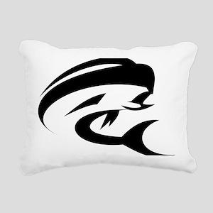 Mahi Mahi Dorado Fish Rectangular Canvas Pillow