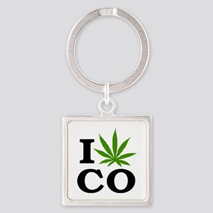 lovec49light Square Keychain