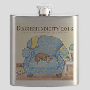 Dachshundicity Flask