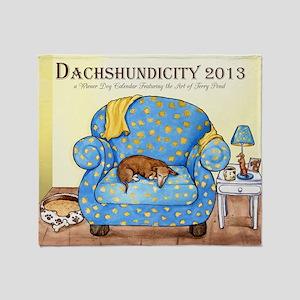 Dachshundicity Throw Blanket
