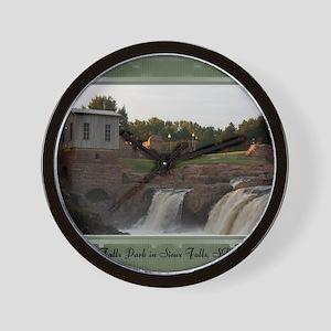 FallsPark7 Wall Clock