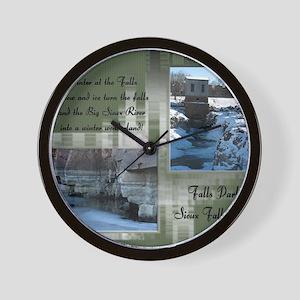 FallsPark10 Wall Clock