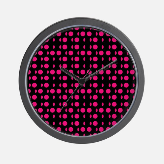 Red Black Odyssey Designer Wall Clock