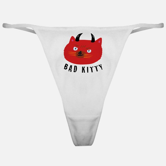 Bad Kitty Classic Thong